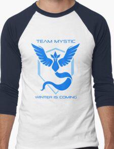 Team Mystic - Winter Is Coming Men's Baseball ¾ T-Shirt