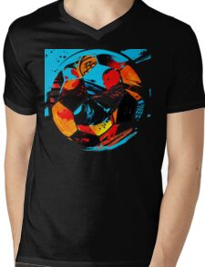Life Ball 578 Mens V-Neck T-Shirt