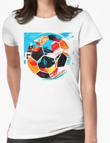 Life Ball Womens Fitted T-Shirt