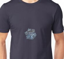 Snowflake photo - Cold metal Unisex T-Shirt