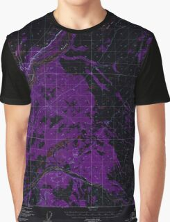 USGS TOPO Map Alaska AK Gulkana B-2 355780 1949 63360 Inverted Graphic T-Shirt