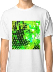Funky Green Disco Ball Classic T-Shirt