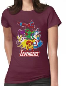 Eevengers Womens Fitted T-Shirt