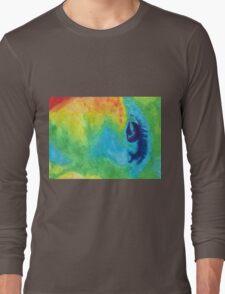 cool weird eye Long Sleeve T-Shirt