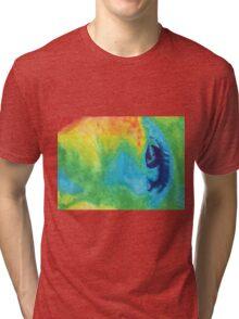 cool weird eye Tri-blend T-Shirt