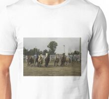 Horses at a trot Unisex T-Shirt