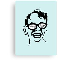 Oiling and Lotioning, Lotioning and Oiling Canvas Print