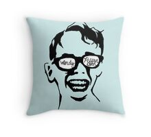 Oiling and Lotioning, Lotioning and Oiling Throw Pillow