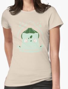 Grass Type Womens Fitted T-Shirt