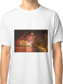 Fireworks at the Fiesta del Carmen 3 Classic T-Shirt