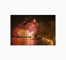 Fireworks at the Fiesta del Carmen 3 Unisex T-Shirt