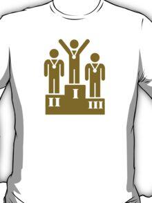 Podium champion medal T-Shirt