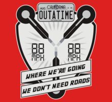Flux Capacitor Redux One Piece - Short Sleeve