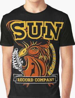 SUN RECORDS ROOSTER Graphic T-Shirt