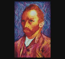 Vincent Van Gogh in Sharpie Marker by JMCSharpieArt