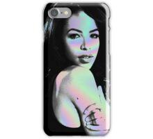 aaliyah hologram iPhone Case/Skin