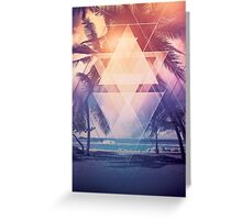 Summer Vibes Greeting Card