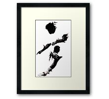Shadows 578 Framed Print
