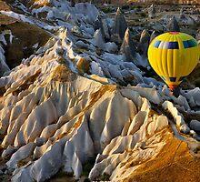 Hot air balloon flight over Cappadocia by Hercules Milas