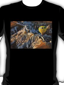 Hot air balloon flight over Cappadocia T-Shirt