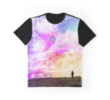 Wanderer in the Sea of Stars Graphic T-Shirt