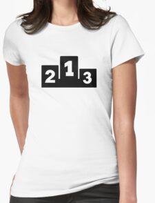 Podium winners Womens Fitted T-Shirt