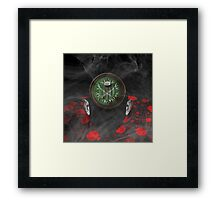 Portrait of a virtual mind. Glenn Beck. Framed Print