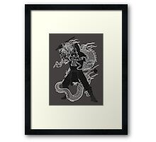 Dragon Ninja Framed Print