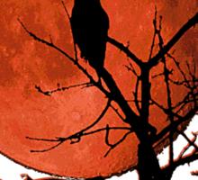 Harvest Moon Rising Sticker