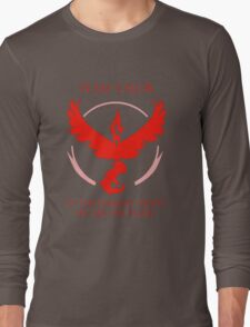 Team Valor - In The Darkest Night, We Are The Flame Long Sleeve T-Shirt