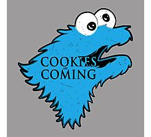 Cookies are Coming Photographic Print