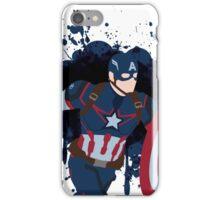 Patriotic Paint Splatters iPhone Case/Skin