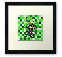 Zelda Link Framed Print