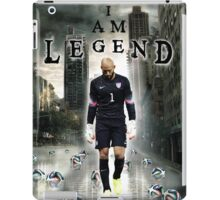 Tim Howard I Am Legend iPad Case/Skin