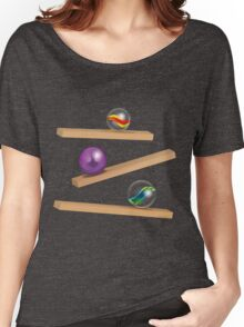 Classic Game - Cristal Marbles Women's Relaxed Fit T-Shirt