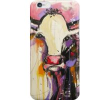 Funky Cow 8 iPhone Case/Skin