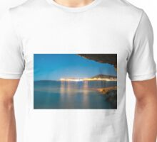 Sea view at night Unisex T-Shirt