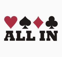 Poker all in One Piece - Short Sleeve