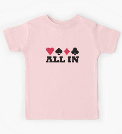 Poker all in Kids Tee