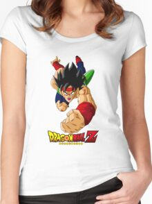 Dragon Ball Z - Bardock Women's Fitted Scoop T-Shirt