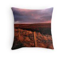 Moors Sunset Throw Pillow