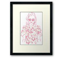 Pink Girl Framed Print
