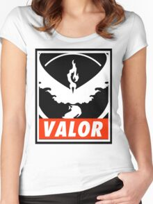 Valor Bar Women's Fitted Scoop T-Shirt