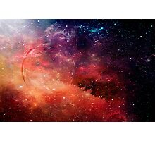 Planetary Soul Violet Photographic Print