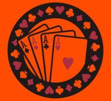 Casino poker aces Kids Clothes
