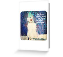 Home is Where the Heart is Cozy - by Colin Greeting Card