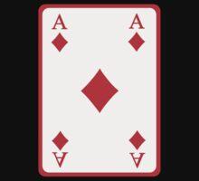 Poker ace diamonds One Piece - Short Sleeve