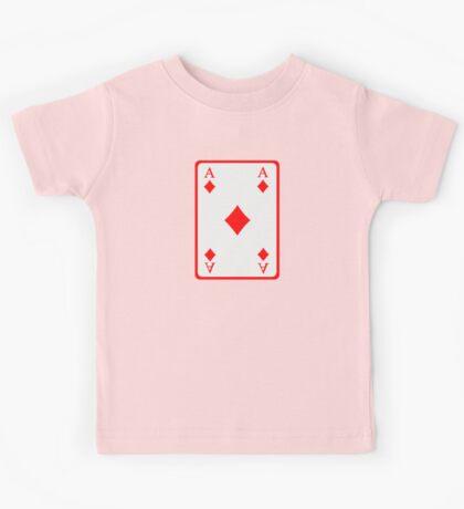 Poker ace diamonds Kids Tee