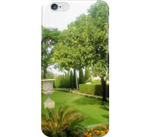 Bahai Gardens iPhone Case/Skin