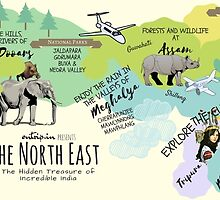 The North East by Ontrip Art Collective